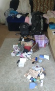 Pre packing piles