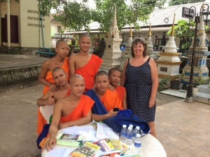 Lovely to meet and chat, find out about these young men in studies and as monks ...