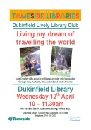Dukinfield talk on travel dream